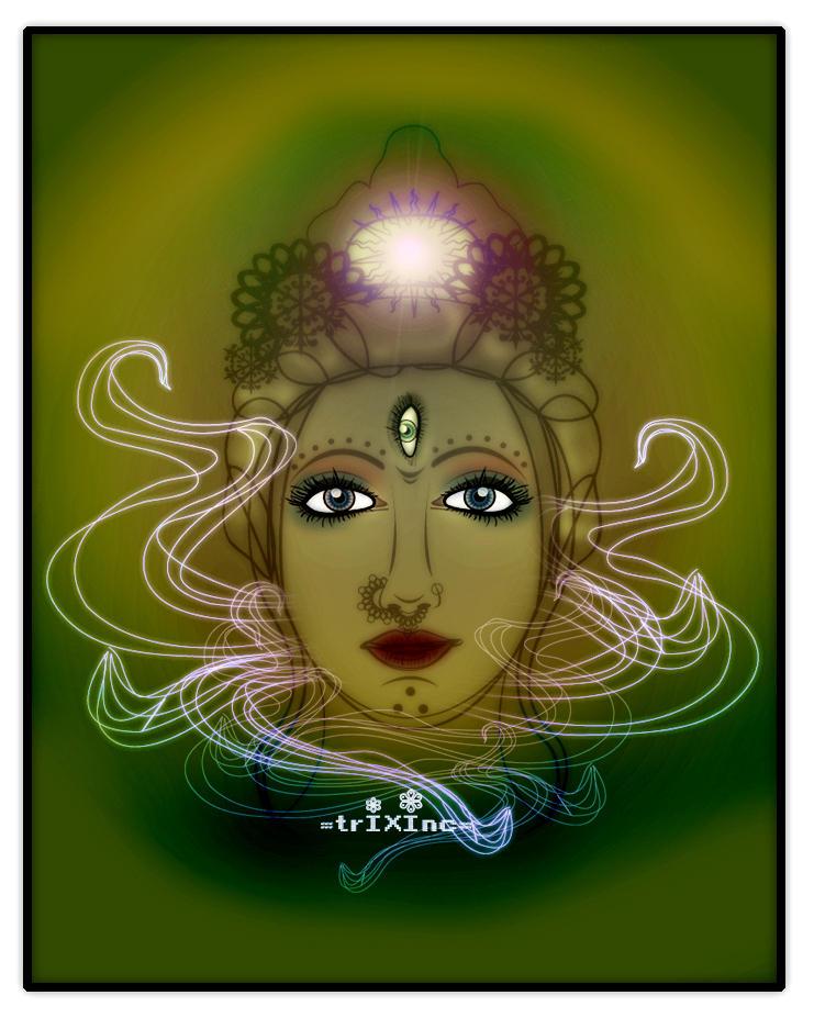 Aura of d Third Eye by TrIXInc