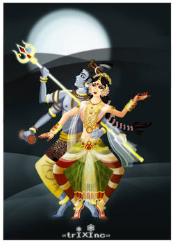 The Dance of ShivanSakthi