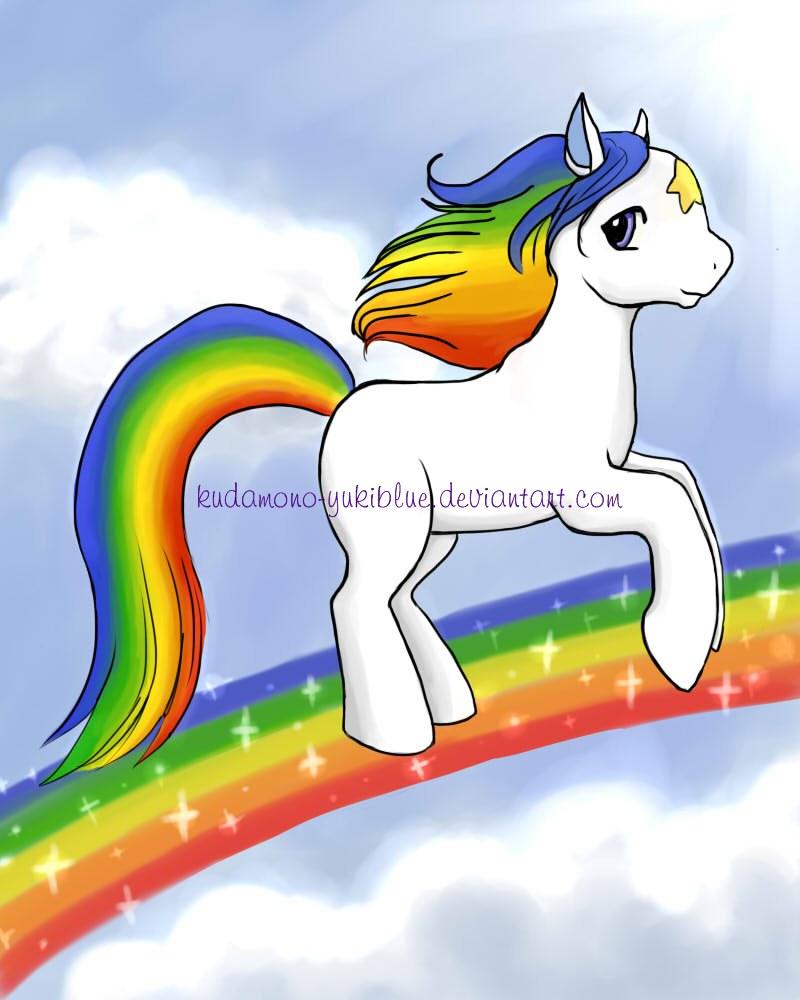 Starlite in pony style by KudaMono-YukiBlue
