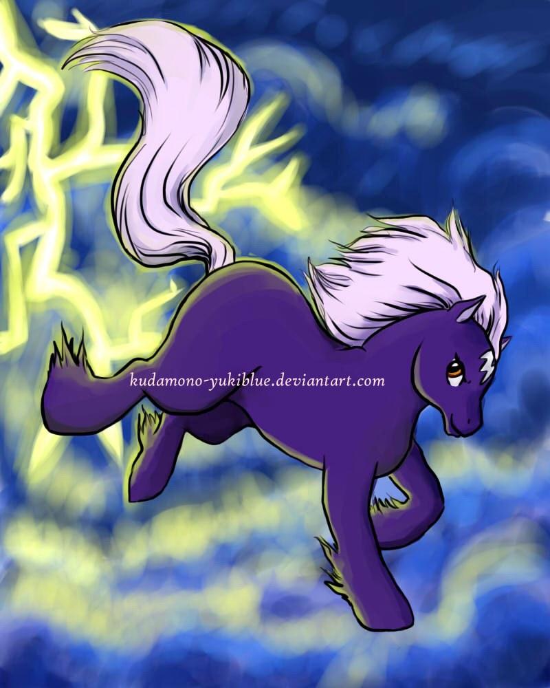 Skydancer in pony style by KudaMono-YukiBlue