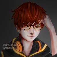 Mystic messanger - luciel choi707 by akevikun