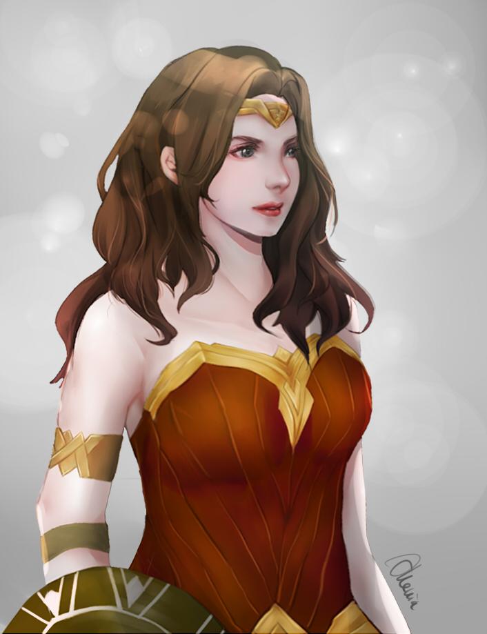 Wonder Woman Fanart by akevikun