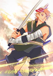 Naruto AU Fanart by akevikun