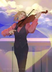 Dancing in rythm by akevikun