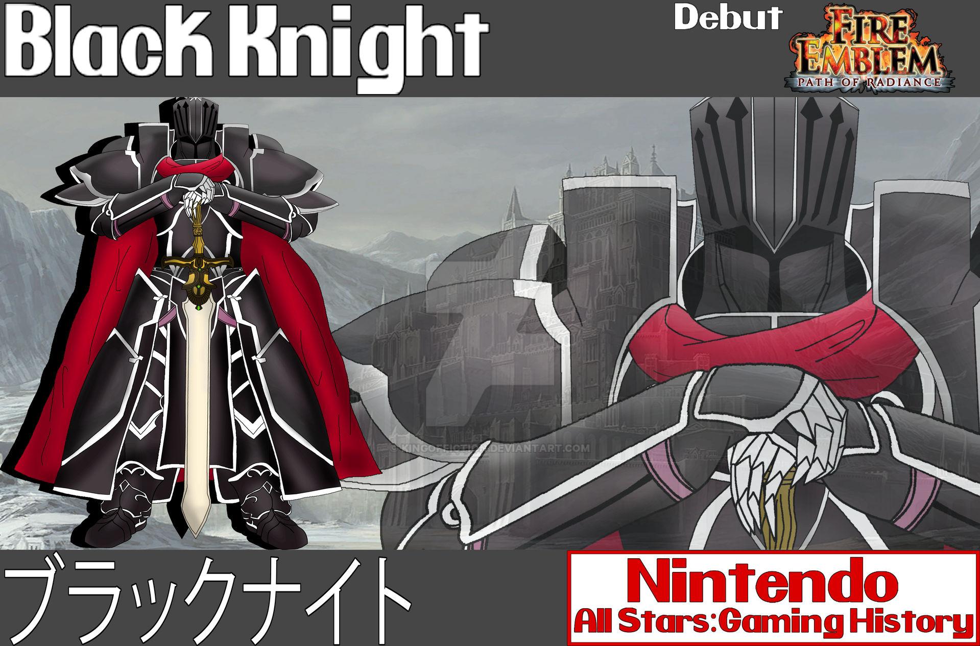 Nintendo All Stars Black Knight Wallpaper By Kingoffiction On