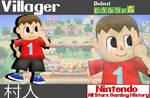 Nintendo All-Stars: Villager Wallpaper