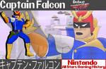 Nintendo All-Stars: Captain Falcon Wallpaper