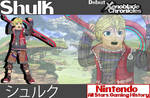 Nintendo All-Stars: Shulk Wallpaper