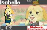 Nintendo All-Stars: Isabelle Wallpaper
