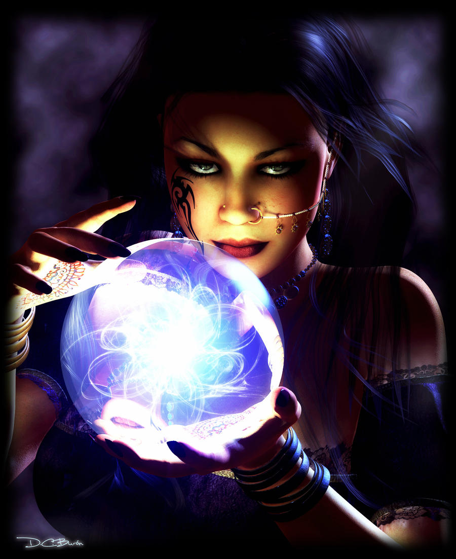 Fortune teller by dburon on DeviantArt