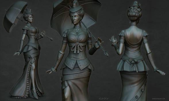 Lady sculpt2