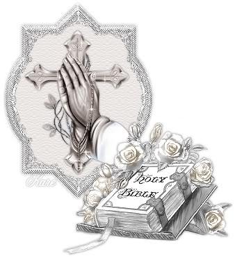 Cross Praying Hands Tattoo Designs