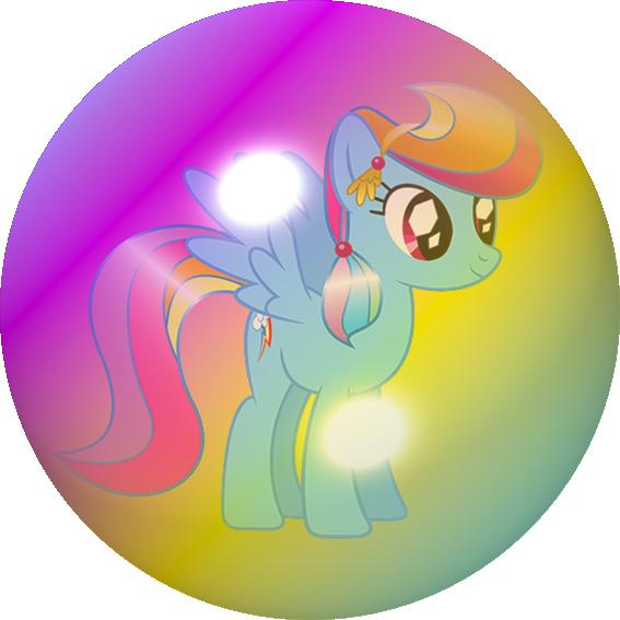 my little pony  rainbow dash bubblekinakojurai on
