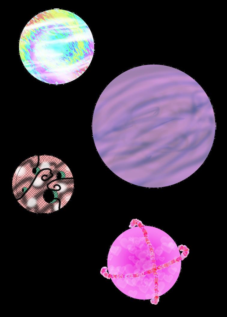StregaFata Project, Original Planets 1 by PurpleAmharicCoffee