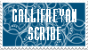 Gallifreyan Scribe Stamp by PurpleAmharicCoffee