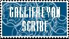 Gallifreyan Scribe Stamp by PurpleAmharicCoffee