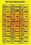 Other useful Circular Gallifreyan words 1
