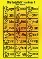 Other useful Gallifreyan words 3 by PurpleAmharicCoffee