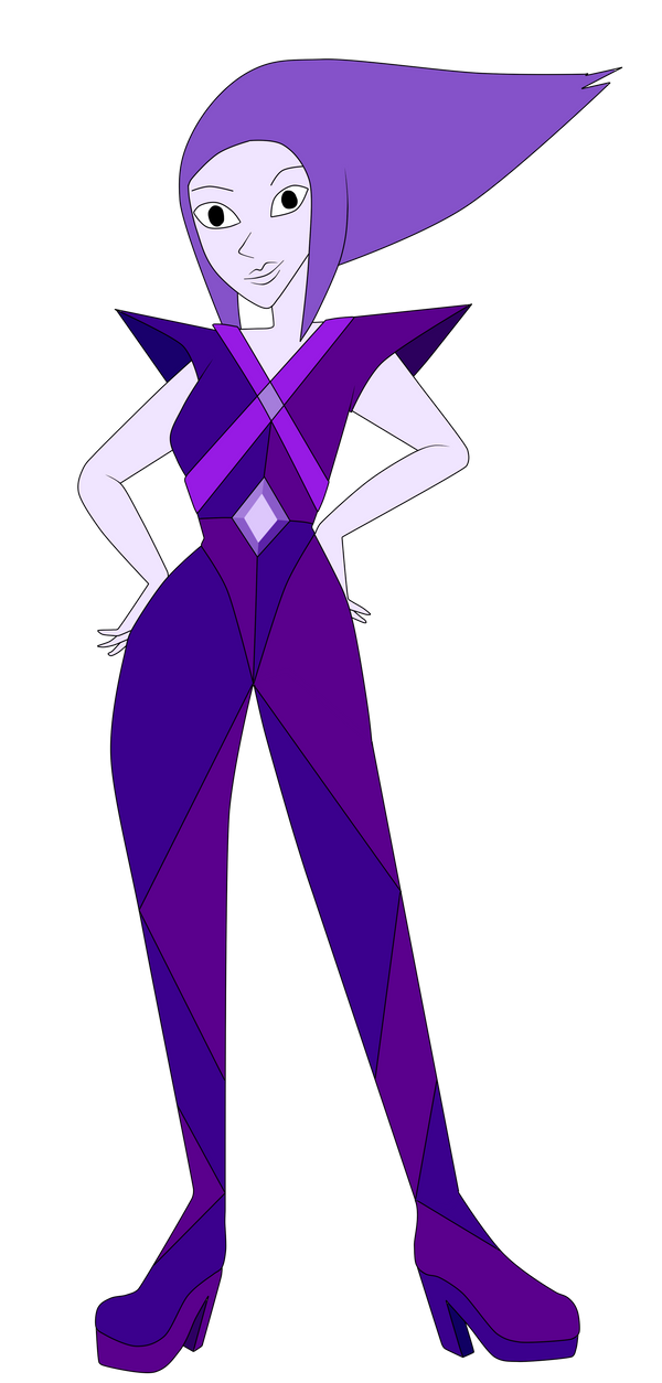 steven deviantart art diamond purple universe charmmycolour on by