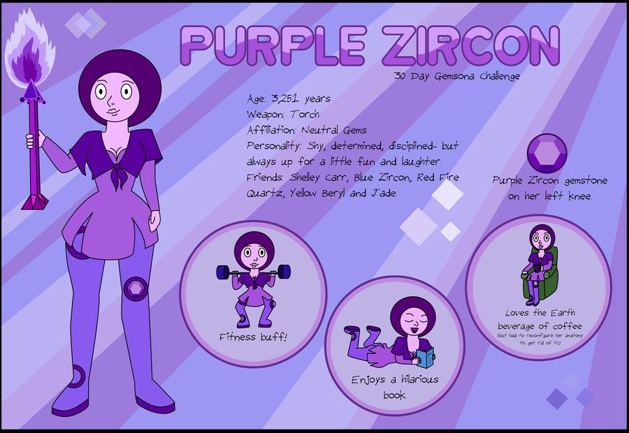 Gemsona Challenge Day 1: Introduction by PurpleAmharicCoffee