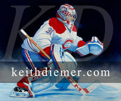 Carey Price, Montreal Canadians by keithdiemerhockey