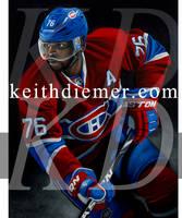 PK Suban Montreal Canadiens by keithdiemerhockey