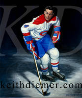 Beliveau,Montreal Canadiens by keithdiemerhockey