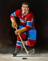 Maurice  Richard by keithdiemerhockey
