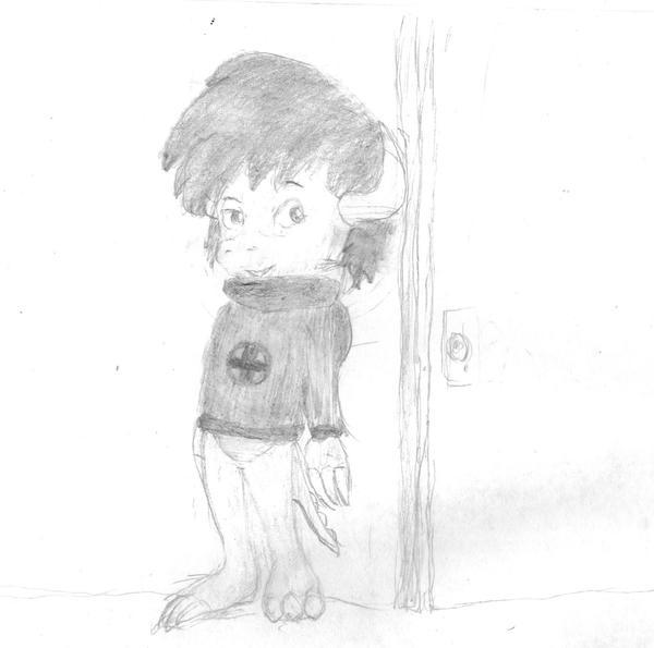 Pembroke hears something interesting by Progamuffin