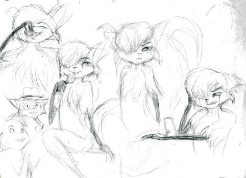 Mehitabel sketches