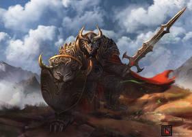 DnD 5e Commission: Dragon Fighter