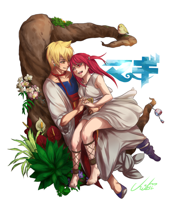 Alibaba and Morgiana by Cygnetzzz