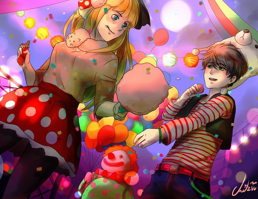 Commission: Fun time by Cygnetzzz