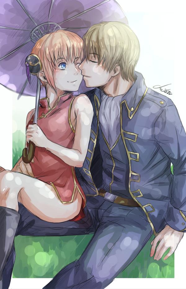 OkiKagu Afternoon Kiss by Cygnetzzz