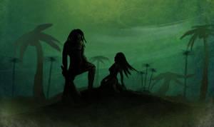 Prehistoric Jungle by deadinsane