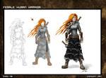 Female Warrior Steps