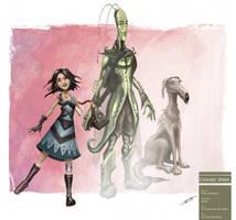 Pepita's Characters by deadinsane