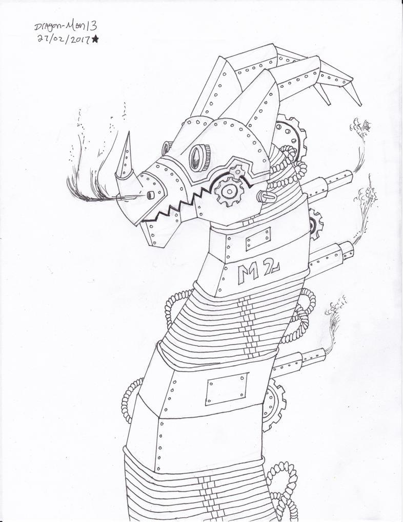 steamdragon #2 by dragon-man13