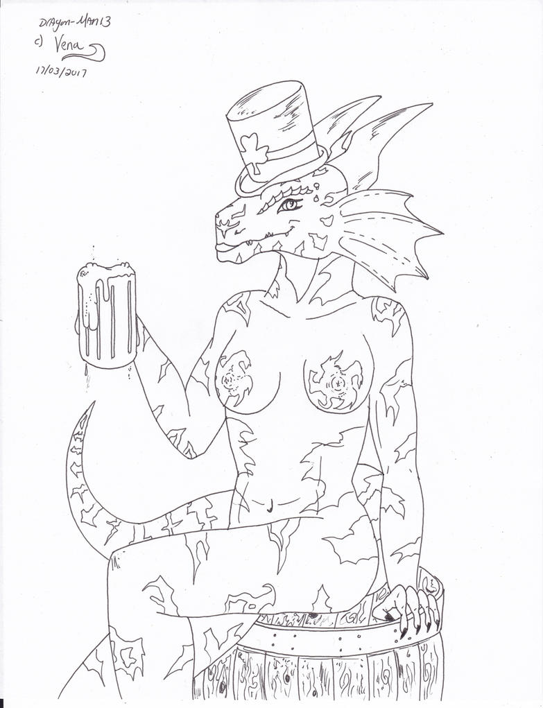 vena st-patrick day by dragon-man13
