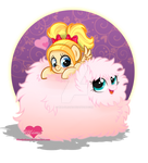 Mimi and Fluffle Puff