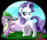 Spike and Rarity