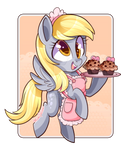 Derpy With Muffin's