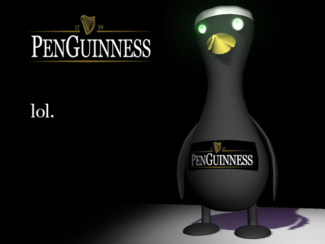 Penguinness, lol by animalloz