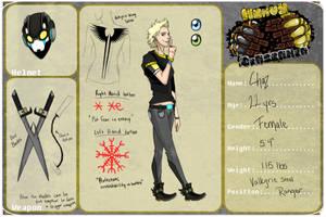 Valkyrie Steel Ranger: Chaz (Beserker/Heavy App) by EerieIdeal