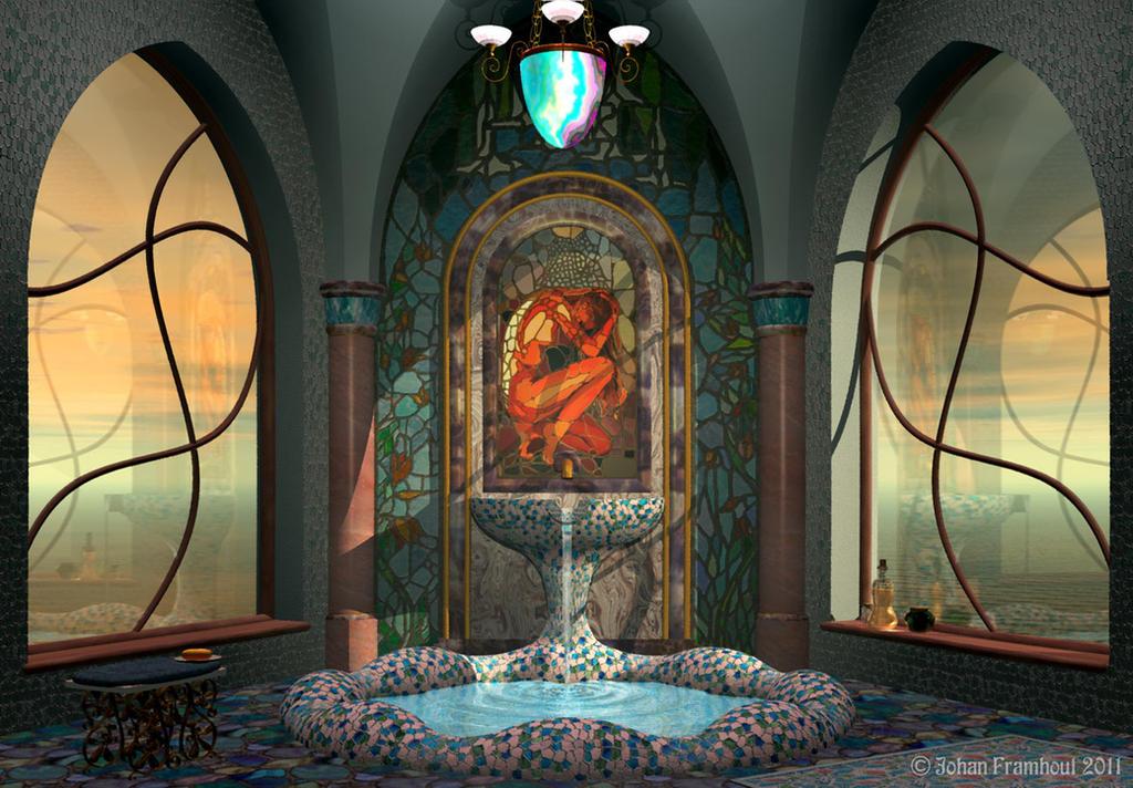 Bathroom by nahojis
