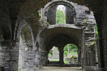 Ruins of Villers-la-Ville 1 by nahojis