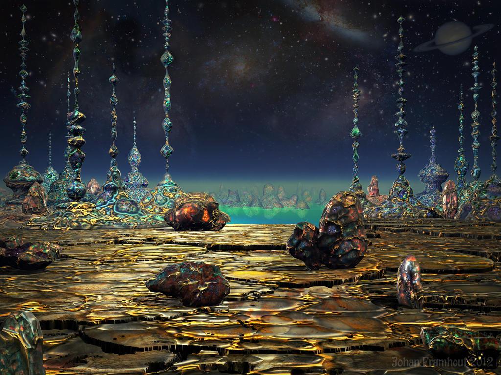 Jewel Planet by nahojis