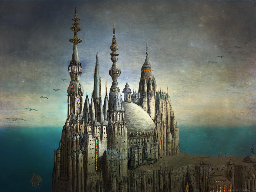 Giant cathedral by nahojis