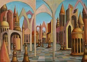 Chessmen city