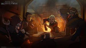 DA:I - Tavern by MattRhodesArt